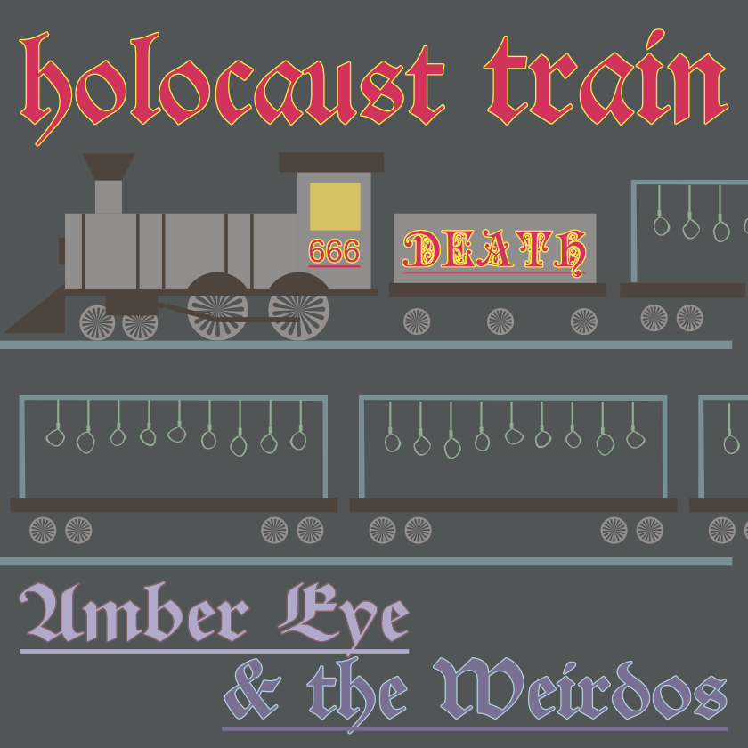 Holocaust Train Cover UNCENSORED